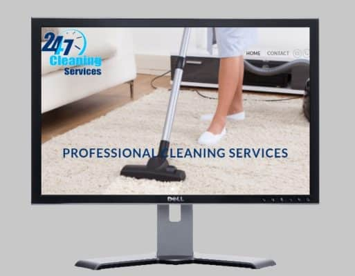 Cleaning Services Website Professional Cheap Websites