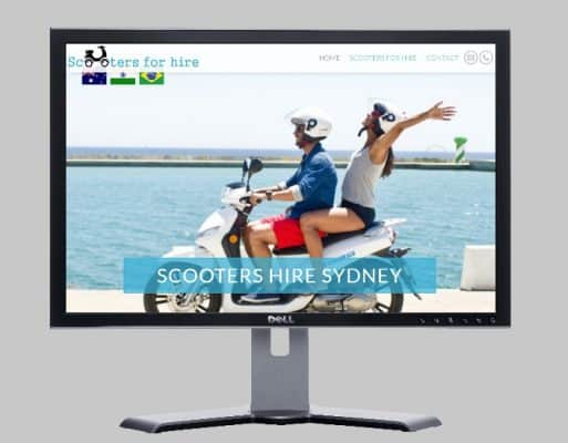scooters for hire sydney melbourne