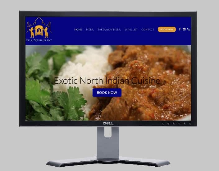 Exotic North Indian Cuisine located in Launceston, Tasmania-Websites by web designer Angie from Fast Cheap Websites Melbourne Sydney Brisbane Adelaide Perth Gold Coast