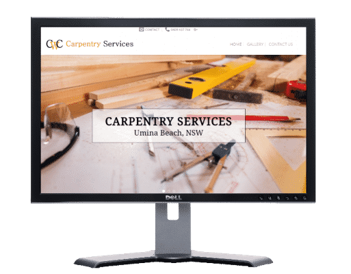 carpentry servies-umina beach NSW-Websites by web designer Angie from Fast Cheap Websites Melbourne Sydney Brisbane Adelaide Perth