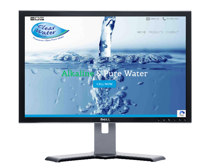 pure water, cheap websites webdesigner