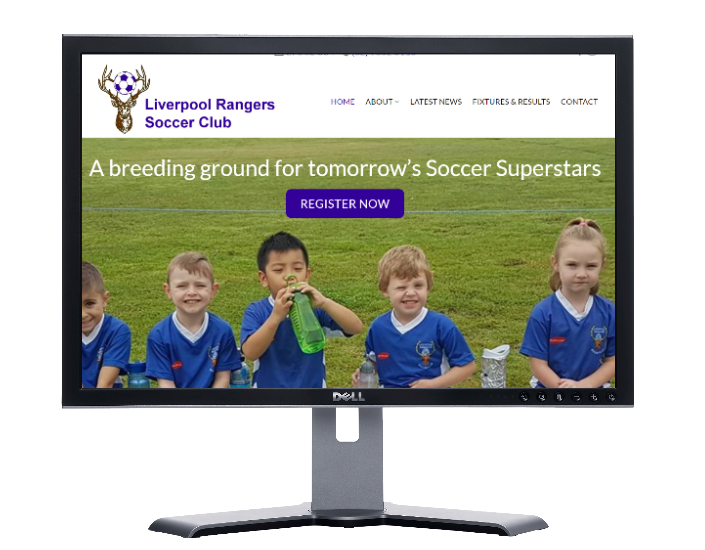 soccer club liverpool NSW, cheap websites webdesigner