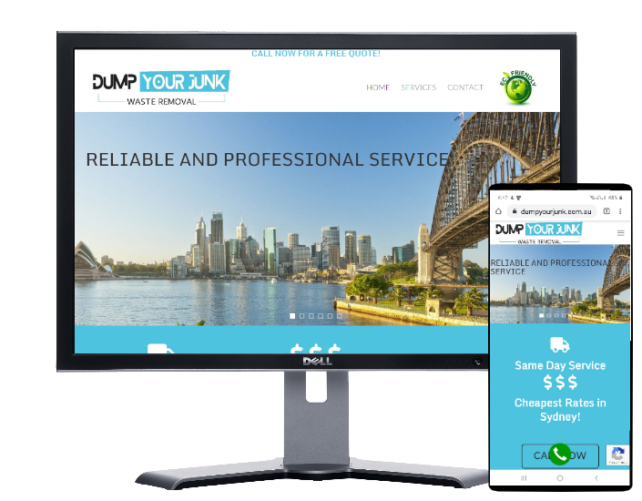 dump your junk rubbish removal by Fast Cheap Websites