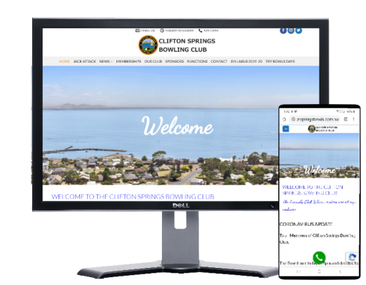 clifton springs bowling club by Fast Cheap Websites