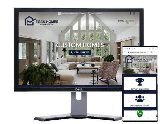 egan homes by Fast Cheap Websites