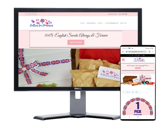 lollies for pommies by Fast Cheap Websites