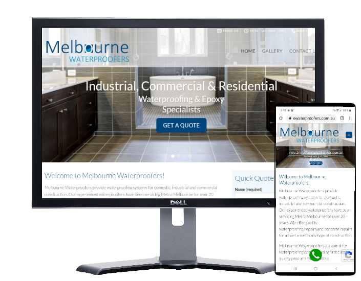 waterproofing melbourne by Fast Cheap Websites