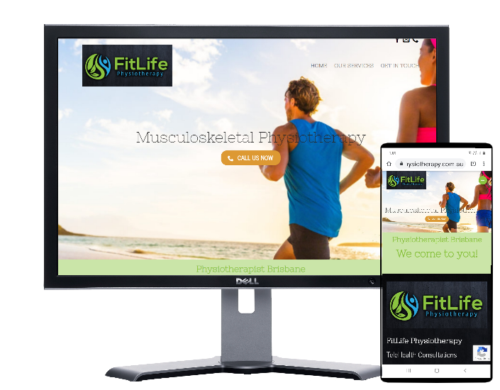Physiotherapy Services Brisbane-Website by Fast Cheap Websites