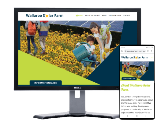 Wallaroo Solar Farm-Website by Fast Cheap Websites