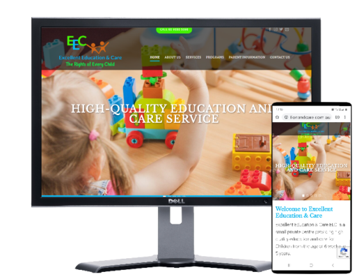 Excellent Education-Website by Angie from Fast Cheap Websites