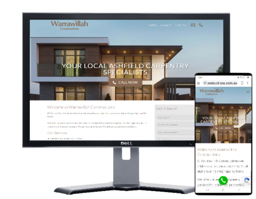 carpenter construction company Warrawillah Sydney-Website by Angie from Fast Cheap Websites