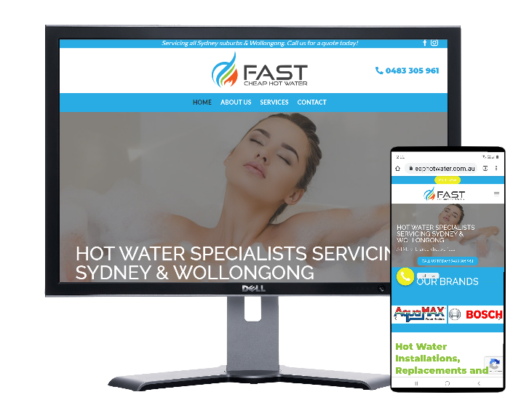 Fast Cheap Hotwater Sydney-by Fast Cheap Websites