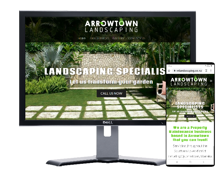 Arrowtown Landscaping New Zealand-by Fast Cheap Websites