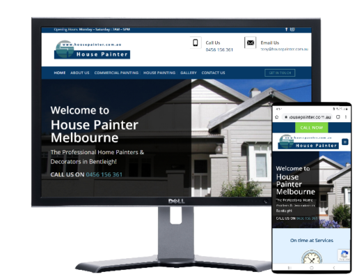 house painter melbourne-built by Fast Cheap Websites