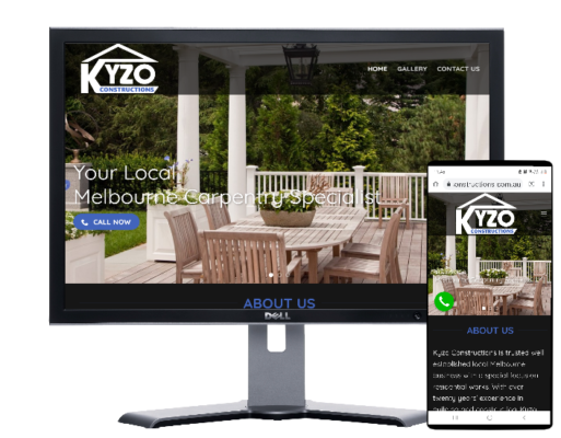 Kyzo Constructions-built by Fast Cheap Websites