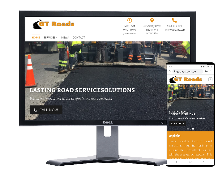 GT Roads Sydney -built by Fast Cheap Websites